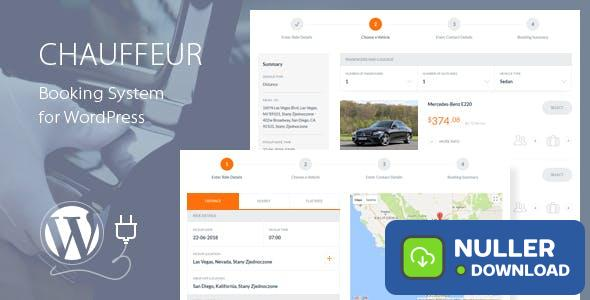 Chauffeur v5.1 - Booking System for WordPress